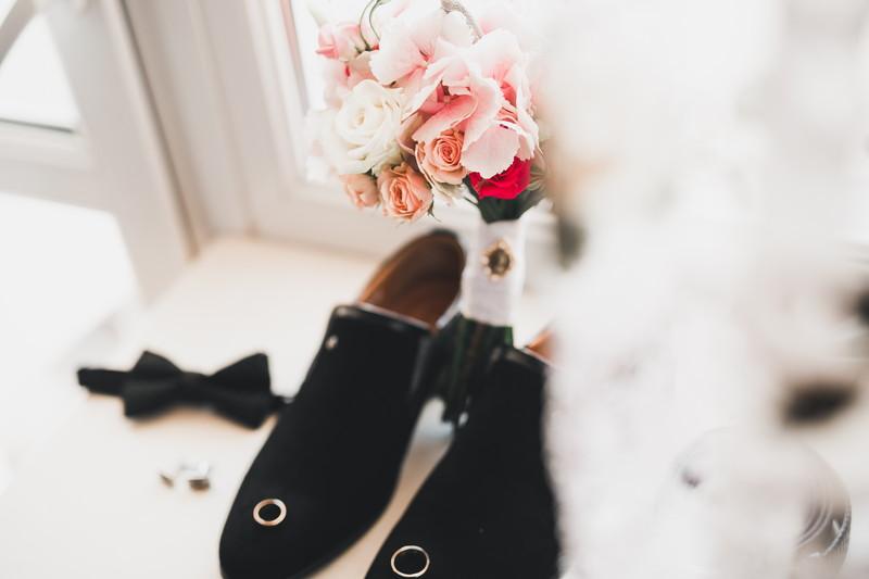 結婚式の準備を