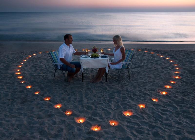 愛する二人の食事